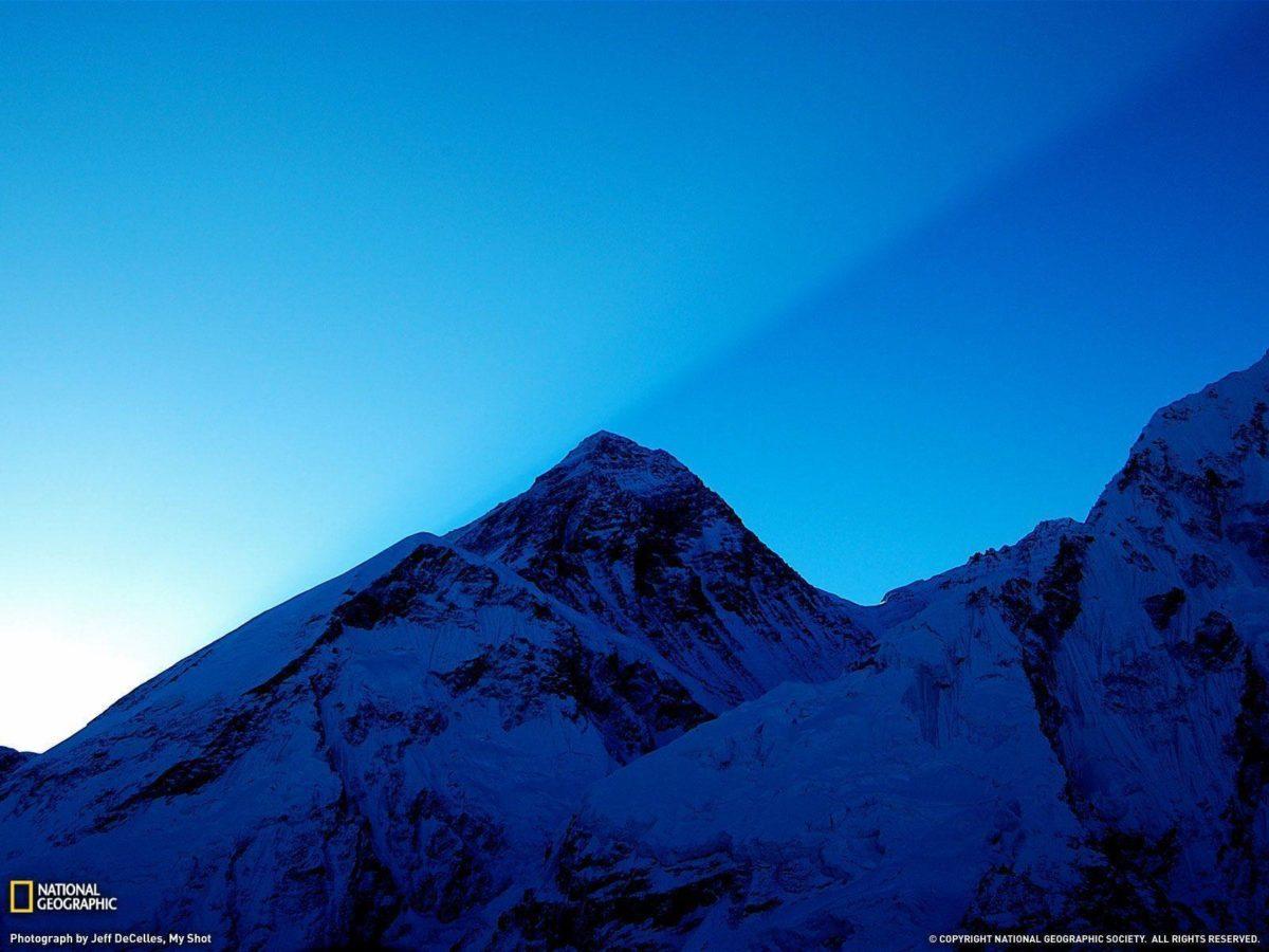 Sunrise Over Mount Everest Picture, Wallpaper – National …