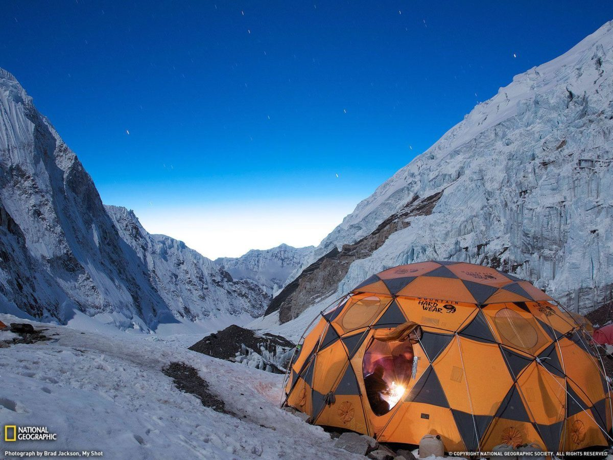 Stars Over Campsite Picture, Mount Everest Wallpaper – National …