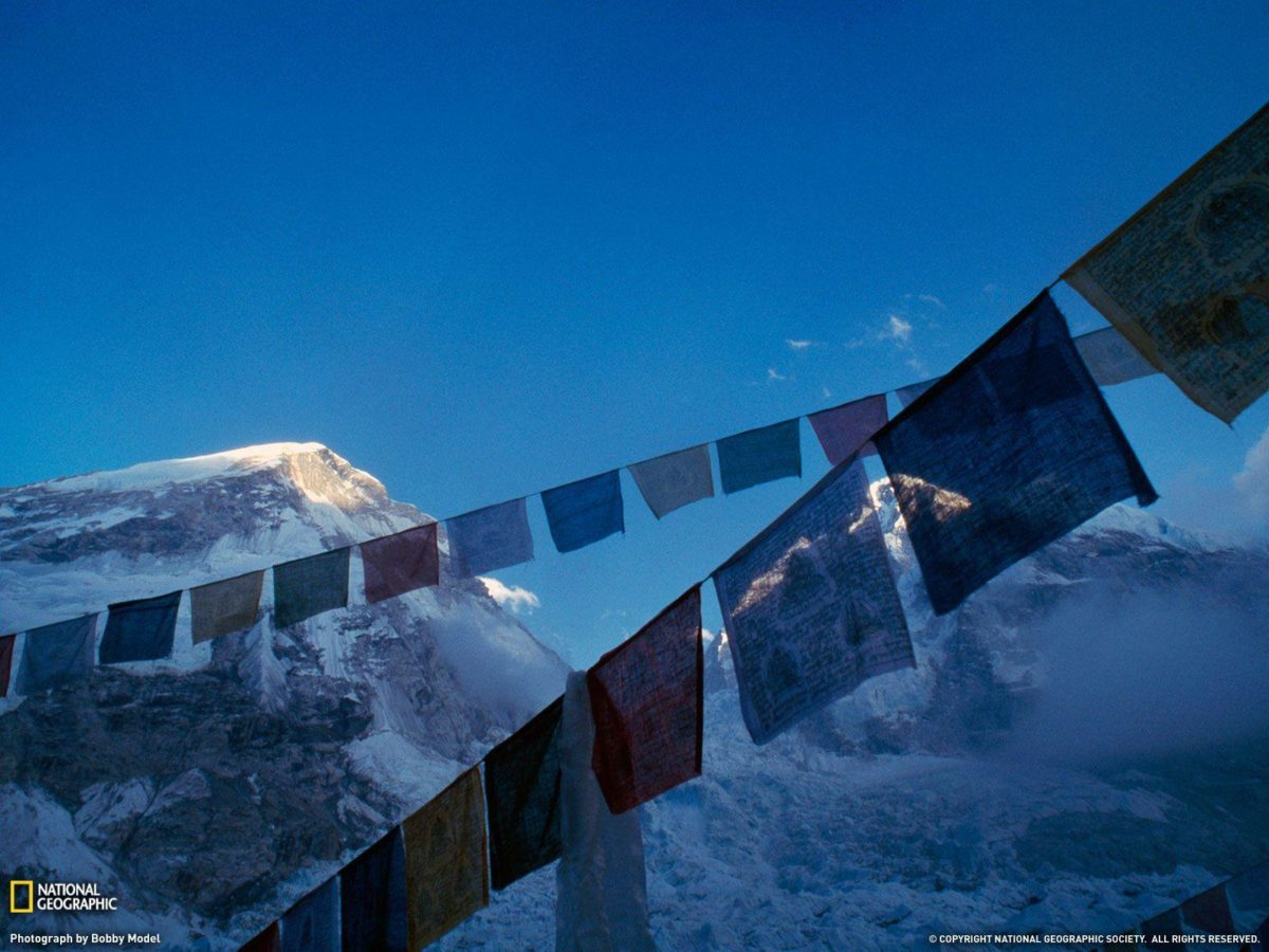 Prayer Flags Picture, Mount Everest Wallpaper – National …