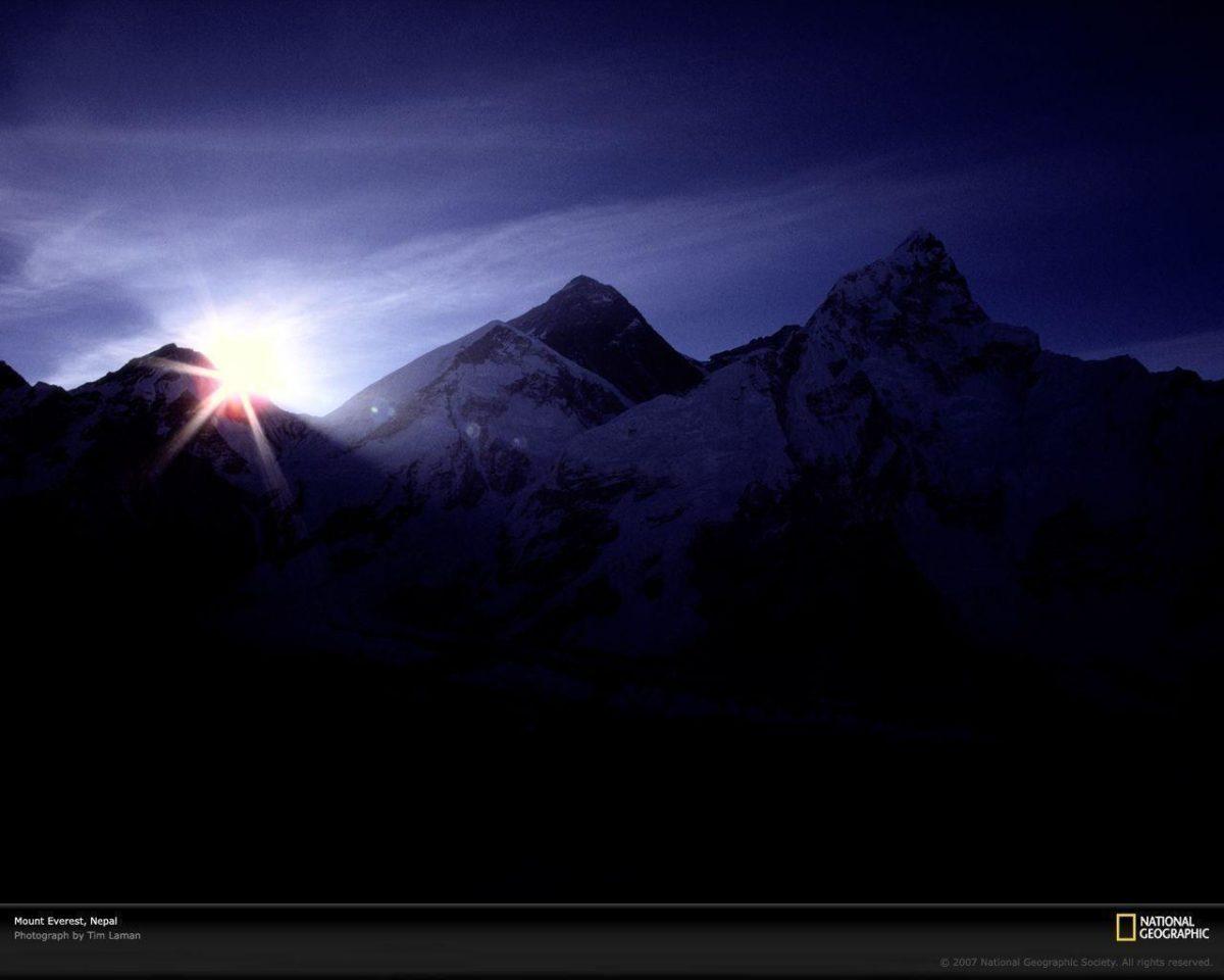 Mount Everest and Himalaya