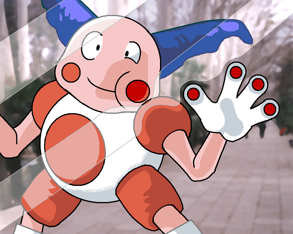 Mr. Mime by PHN001D-Deck on DeviantArt