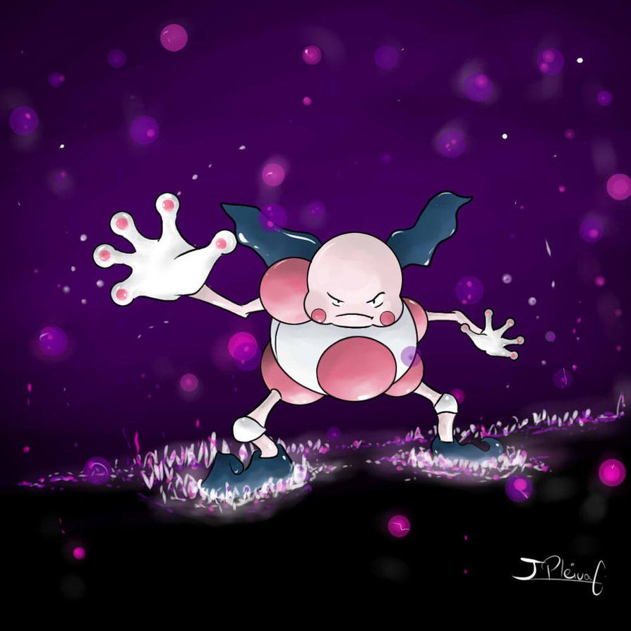 Mr. Mime!! by JPbros on DeviantArt