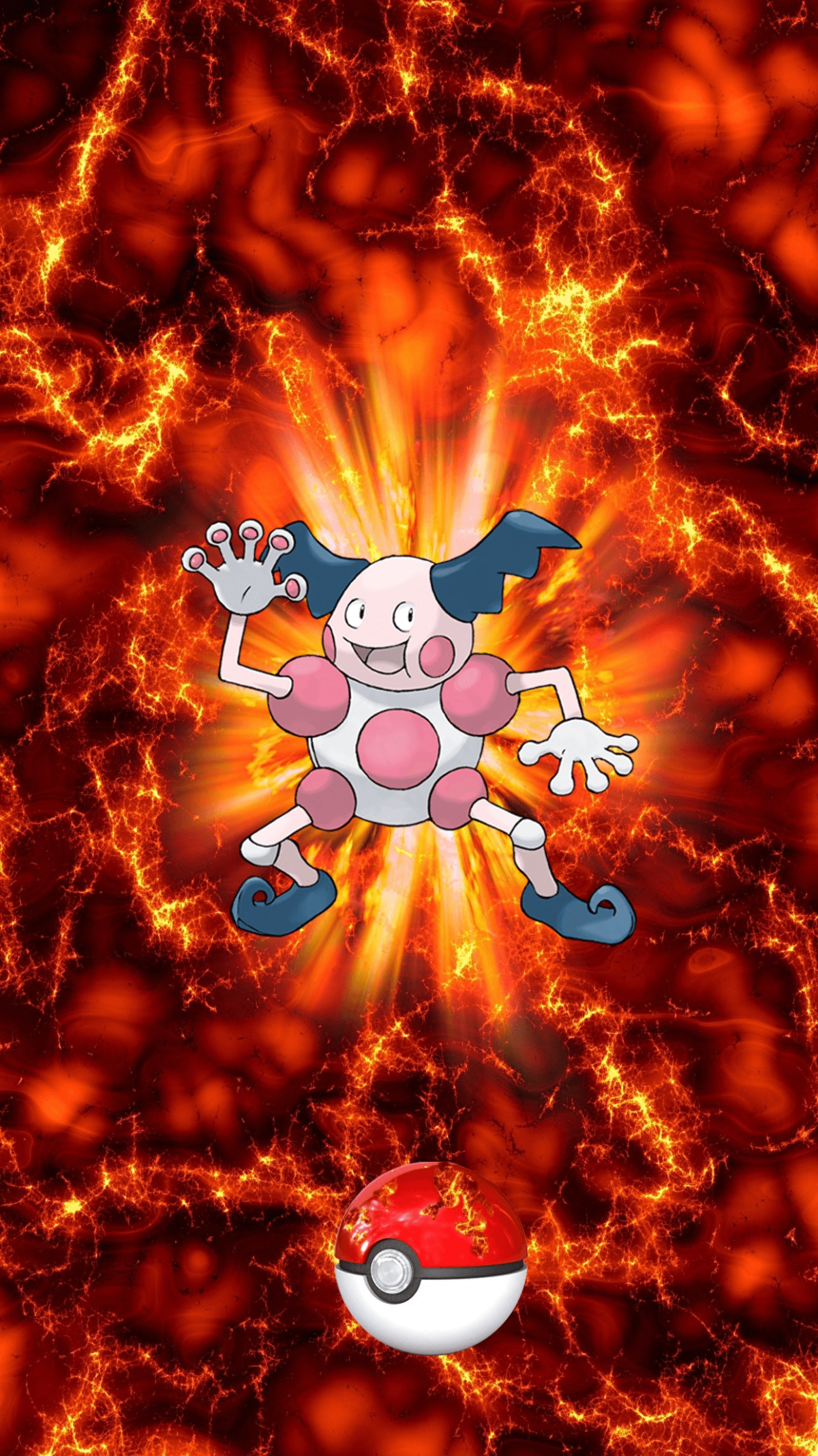 122 Fire Pokeball Mr. Mime Barrierd Egg, or Mime Jr. | Wallpaper