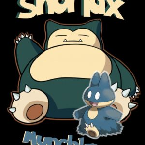 download Snorlax and Munchlax (T-Shirt idea) by NordicBerry on DeviantArt