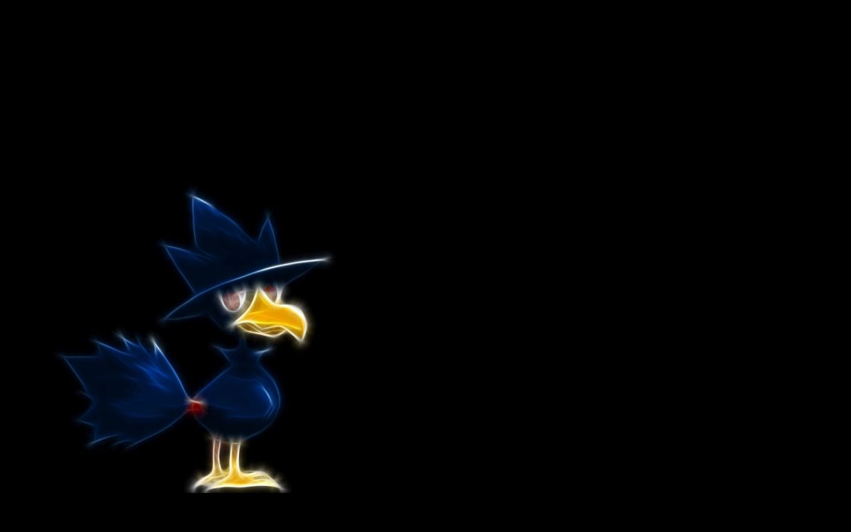 Murkrow – Pokemon Wallpaper #27269