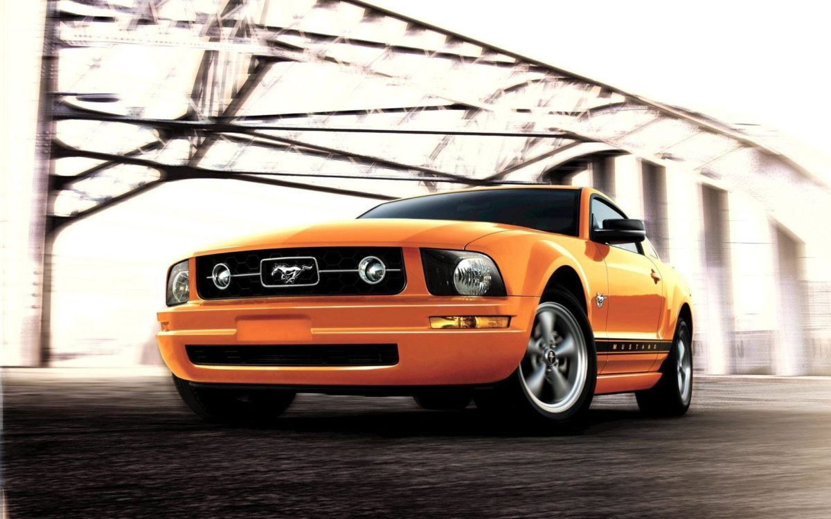 Wallpaper ford mustang animaatjes 0 Wallpaper