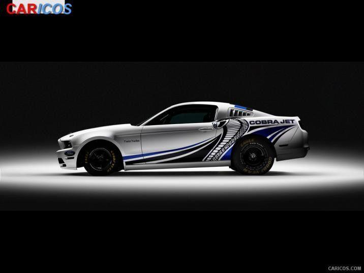2012 Ford Mustang Cobra Jet Twin-Turbo Concept – Side | HD …