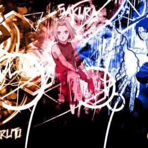 download Sakura, Naruto and Sasuke wallpaper – Anime wallpapers – #