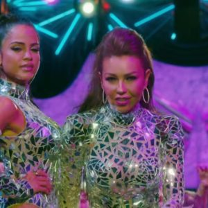 download Sequin & Glitter Outfits Worn by Thalía and Natti Natasha in