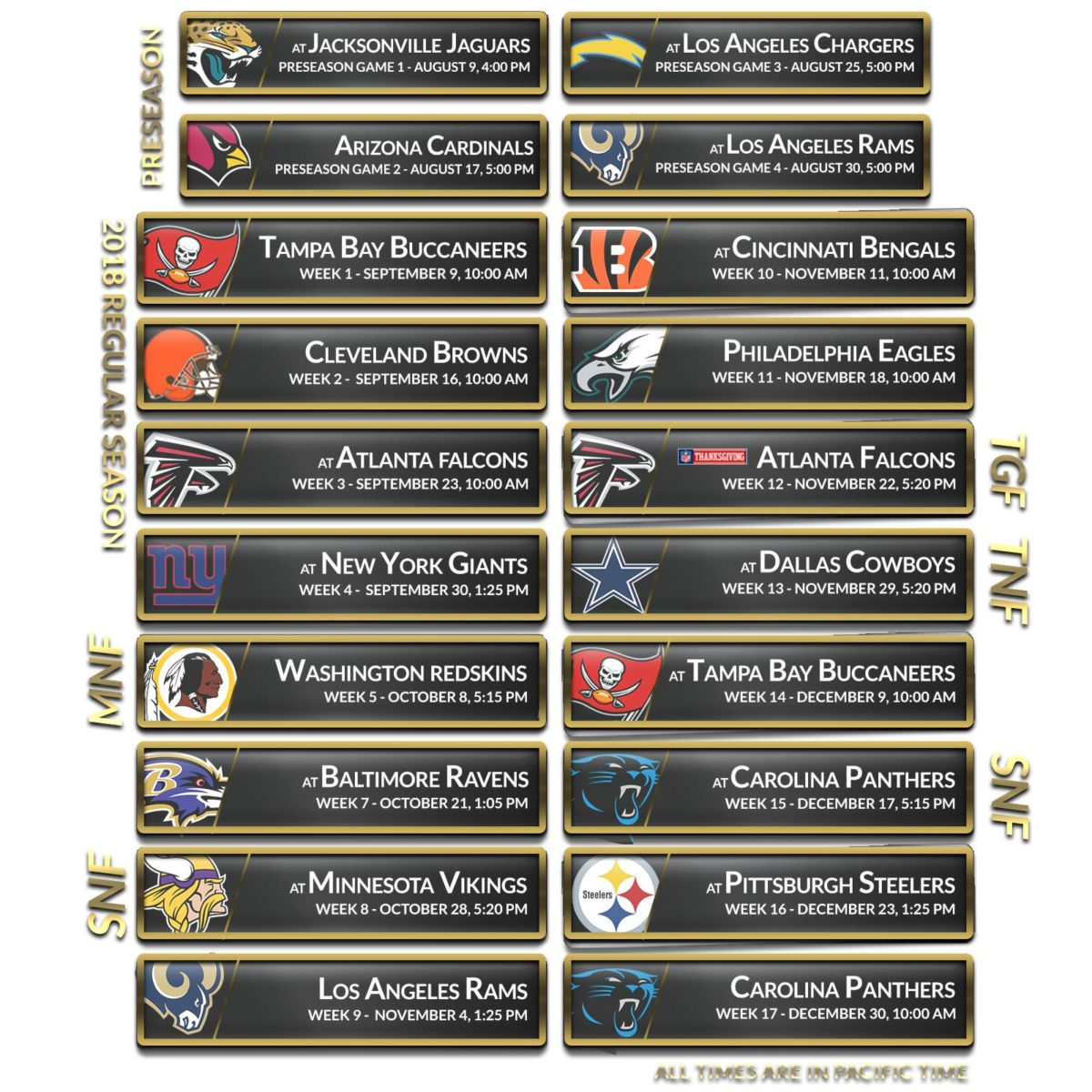 2018 Schedule Wallpapers | New Orleans Saints – Saints Report …
