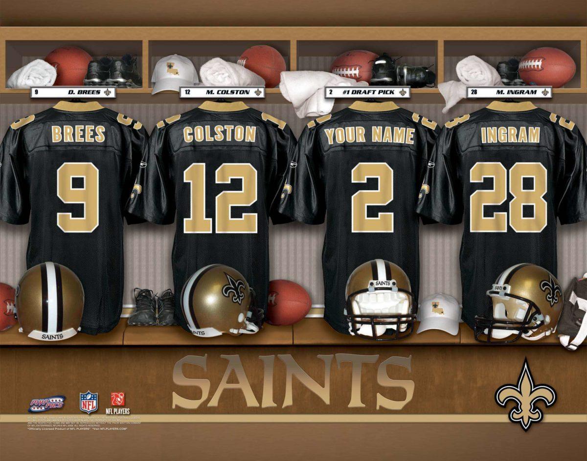 New Orleans Saints Uniform Wallpaper, Size: 2100×1650 …