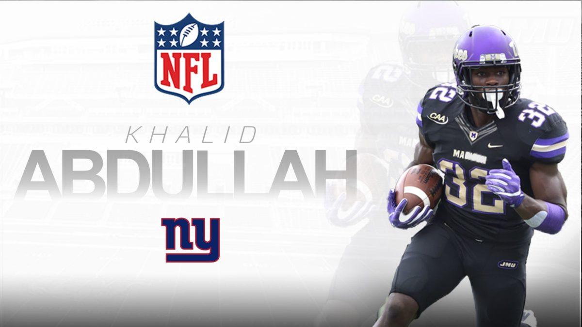 Khalid Abdullah Signs Pro Contract with New York Giants | James …