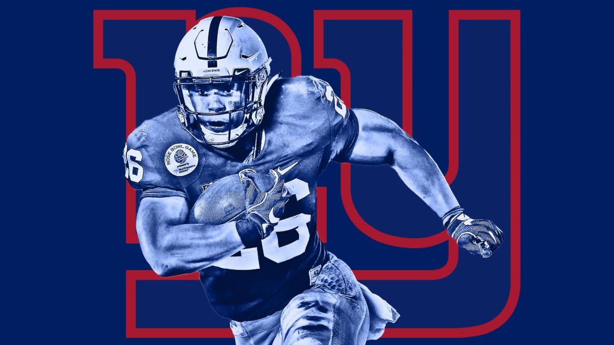 New York Giants select Saquon Barkley with the 2nd pick in NFL Draft