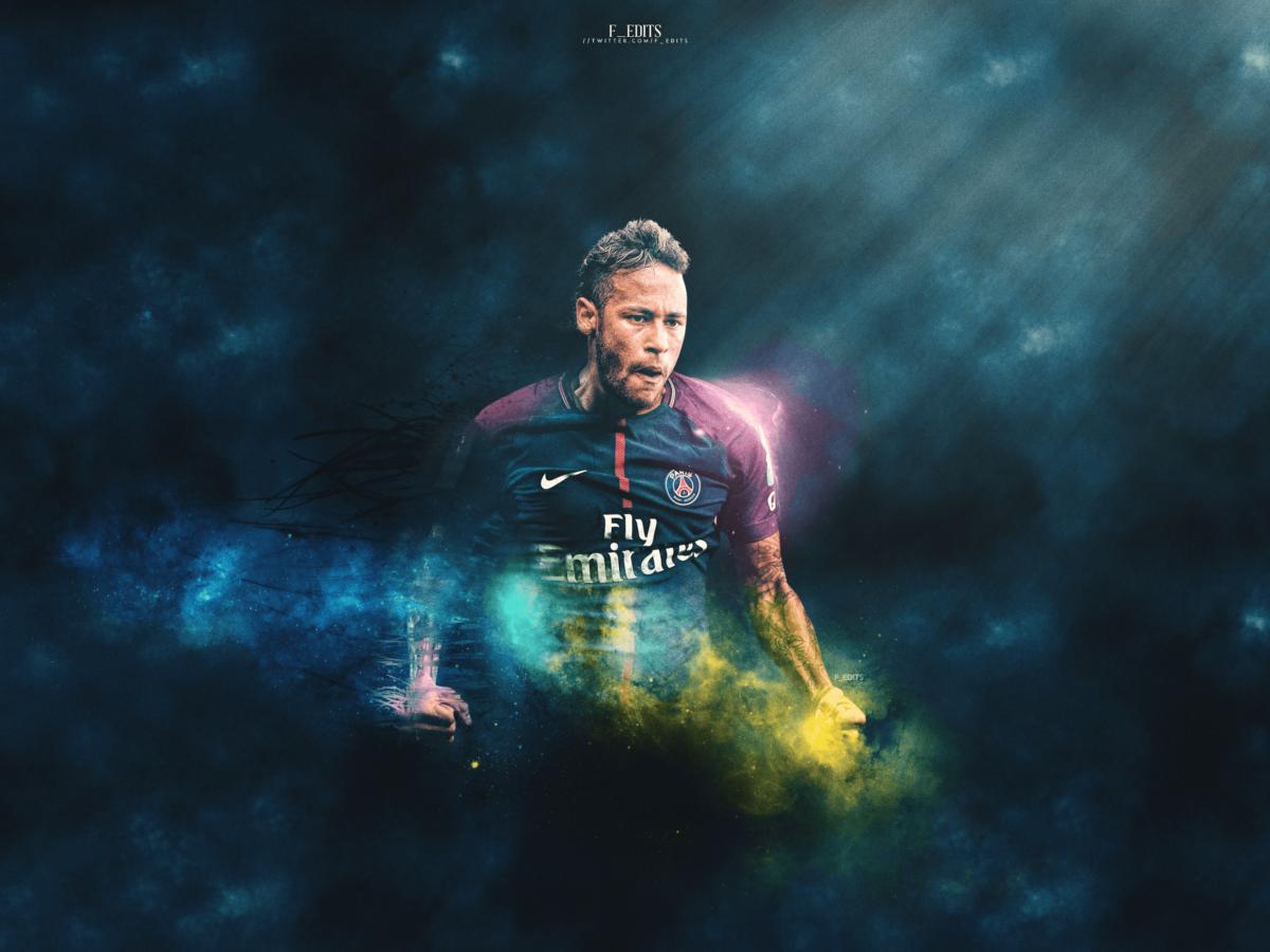 Neymar PSG desktop wallpaper by F-EDITS on DeviantArt