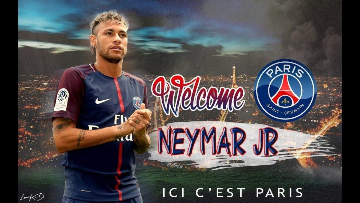Photoshop tutorial : Football Wallpaper – Neymar Welcome To PSG + …