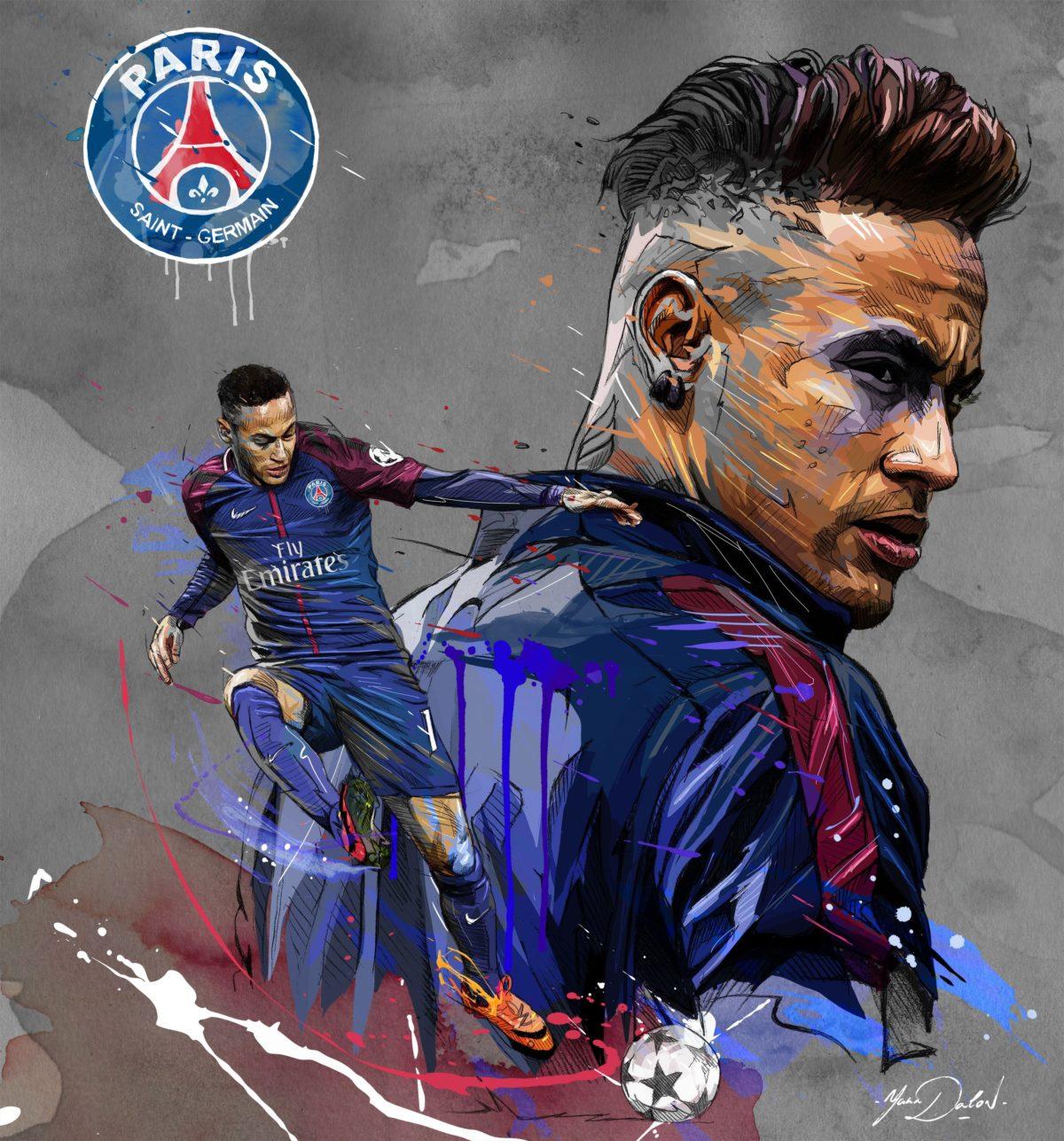 Neymar Psg Wallpaper