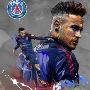 download Neymar Psg Wallpaper