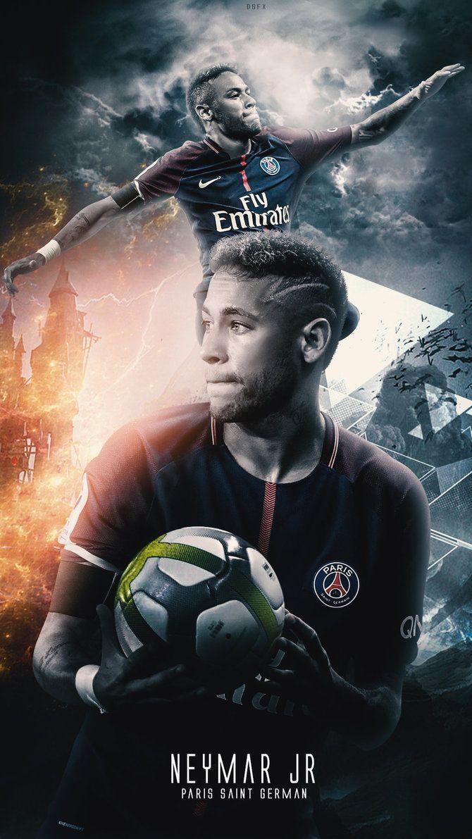 Neymar Jr – Wallpaper PSG by DanialGFX on DeviantArt