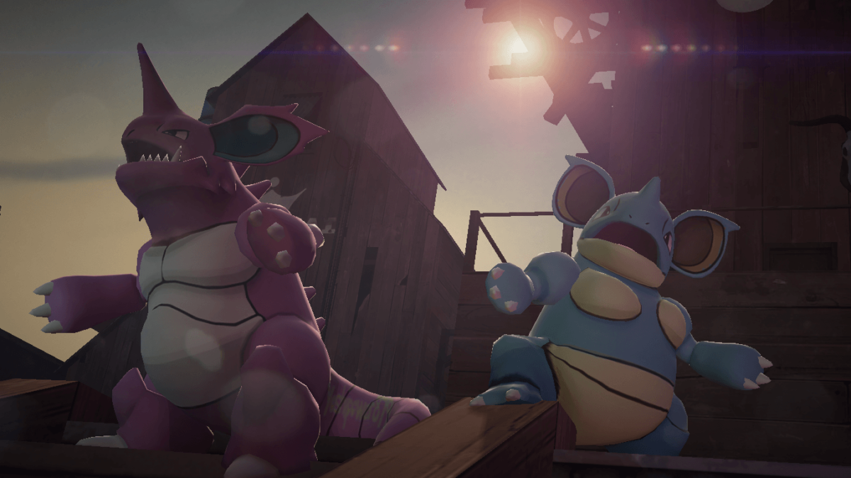 NidoKing and NidoQueen by yoshipower879 on DeviantArt