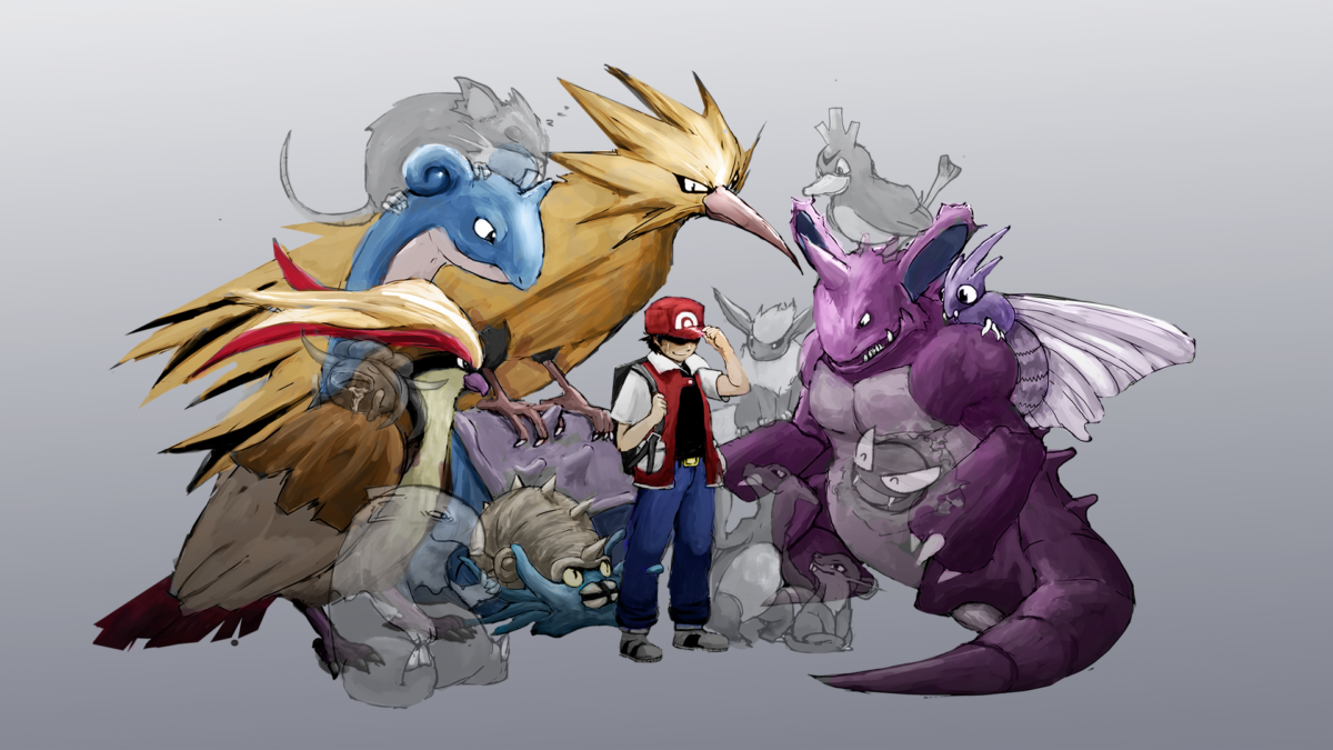 charmeleon, drowzee, farfetch'd, flareon, gastly, and others …