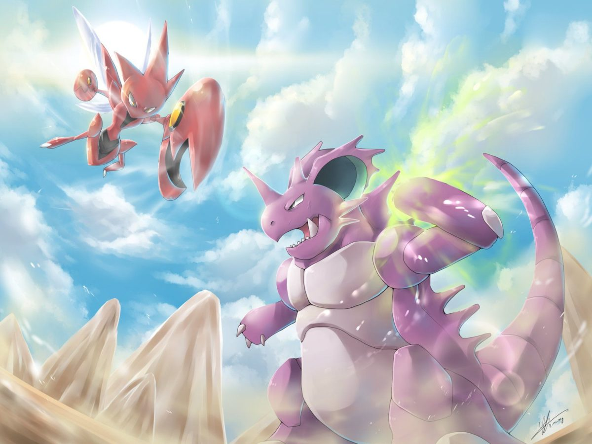 C] Nidoking vs Scizor! by R-nowong on DeviantArt