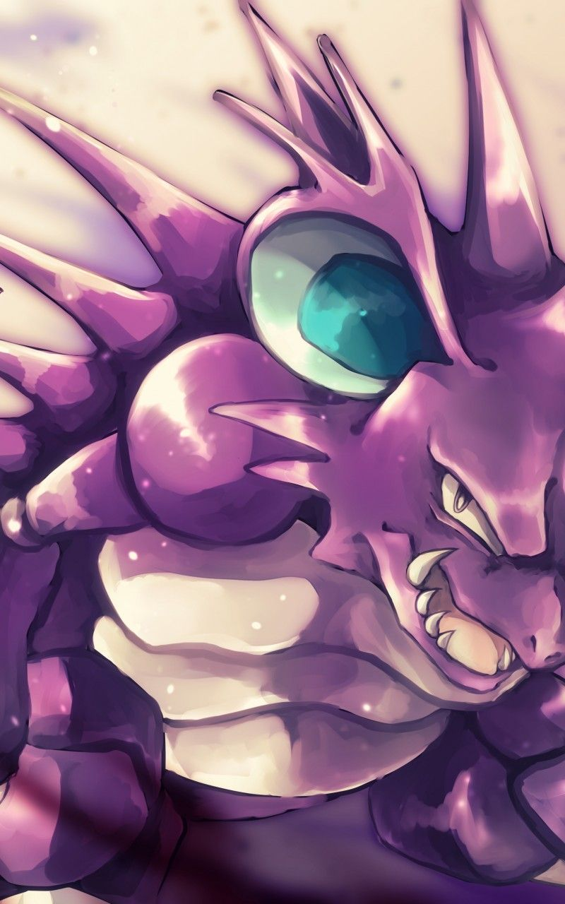 Download 800×1280 Pokemon, Nidoking, Artwork Wallpapers for Galaxy …