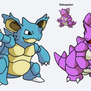 download Pokemon Fusion – Nidoking and Nidoqueen by TheSerraVich on DeviantArt