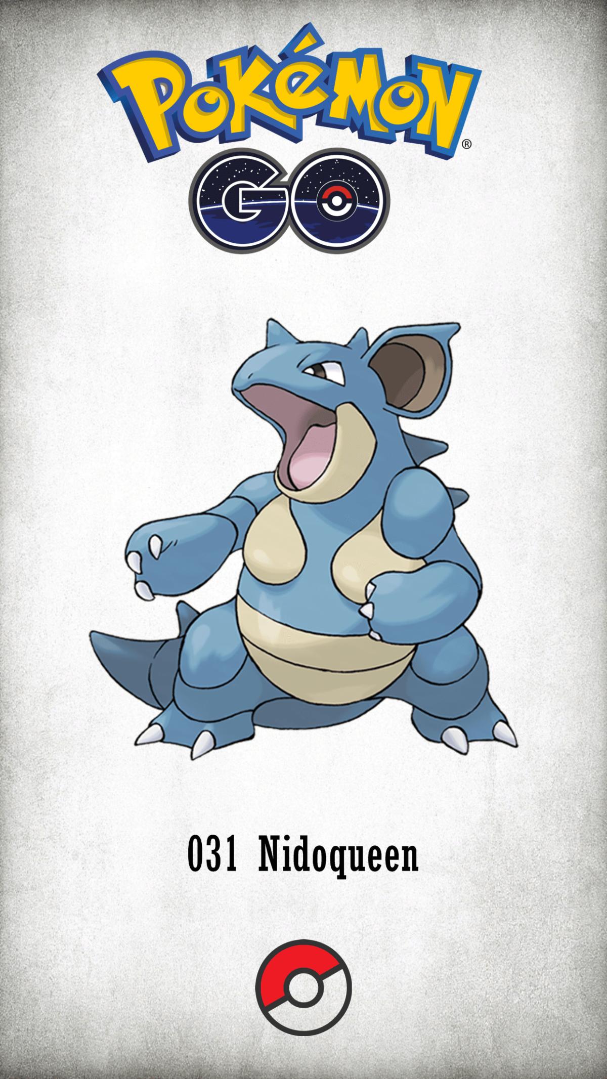 031 Character Nidoqueen | Wallpaper
