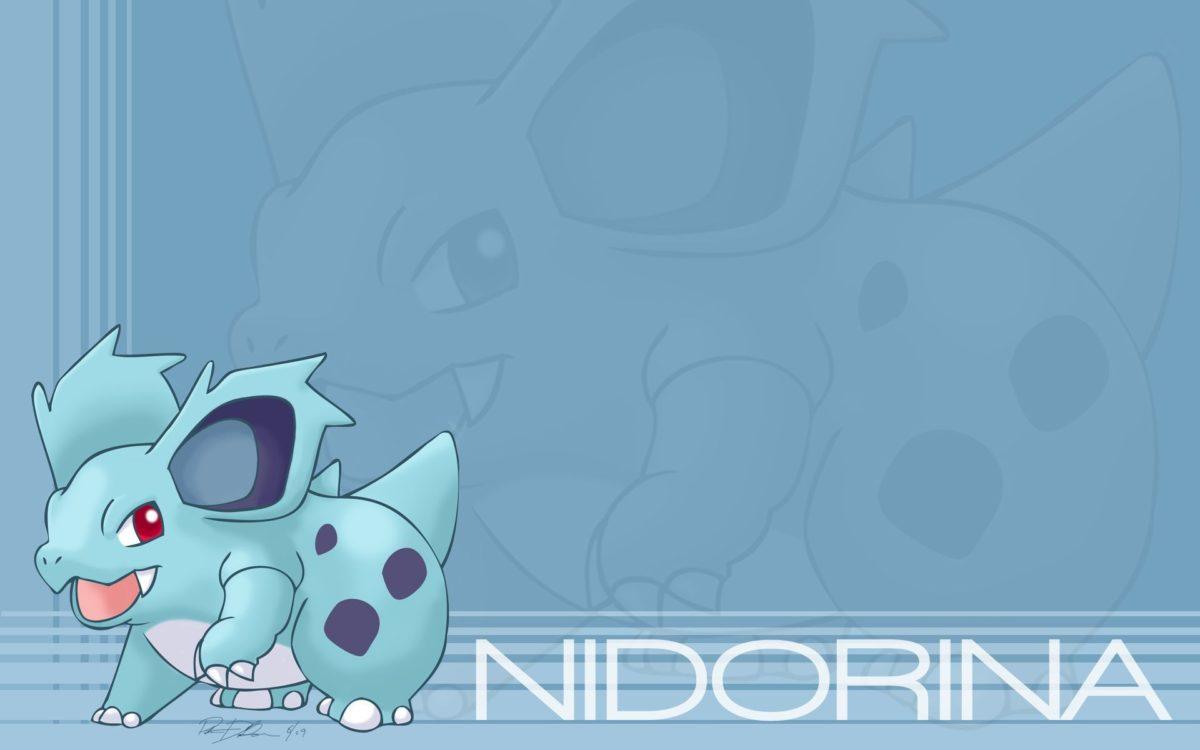 Nidorina's Aqua Bunny – Wallpapers