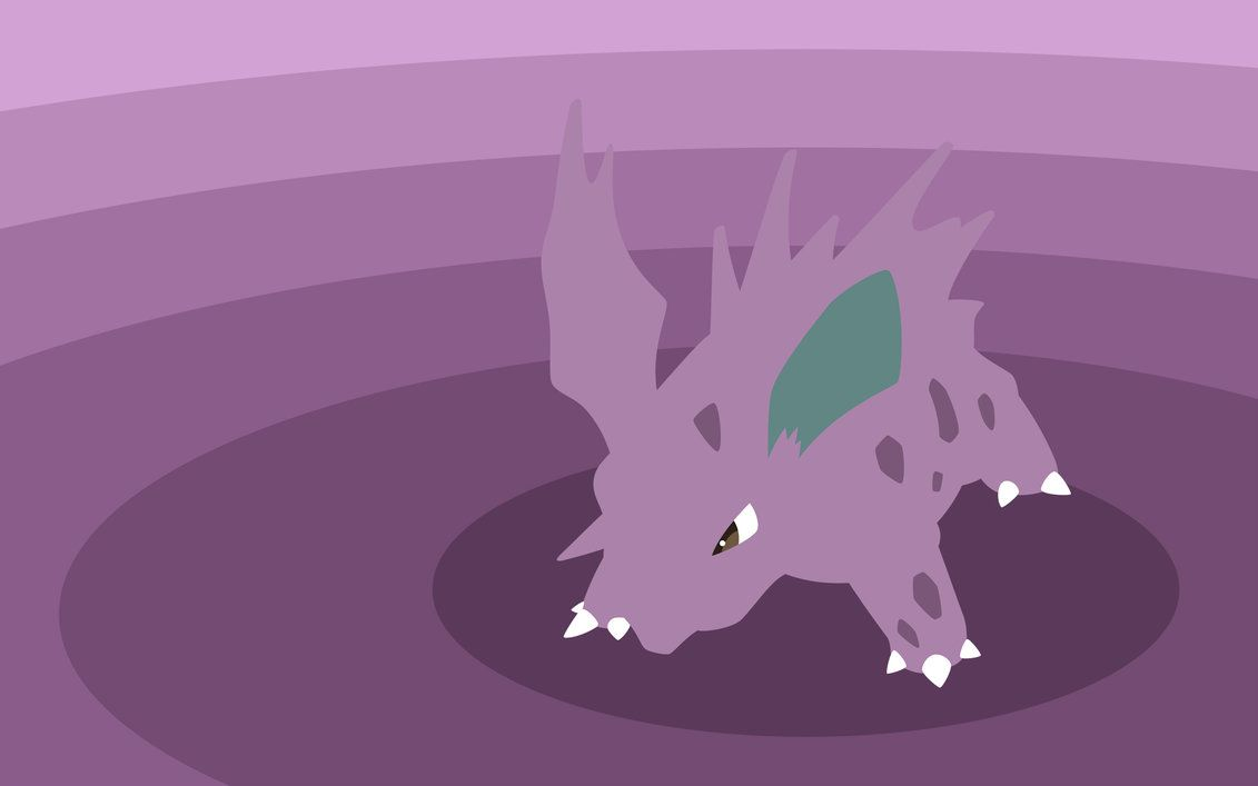 Pkmn 033 Nidorino by Senzune on DeviantArt
