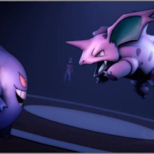 download Gengar, #Nidorino, #Red (Pokemon), #Pokémon | Wallpaper No. 543801 …