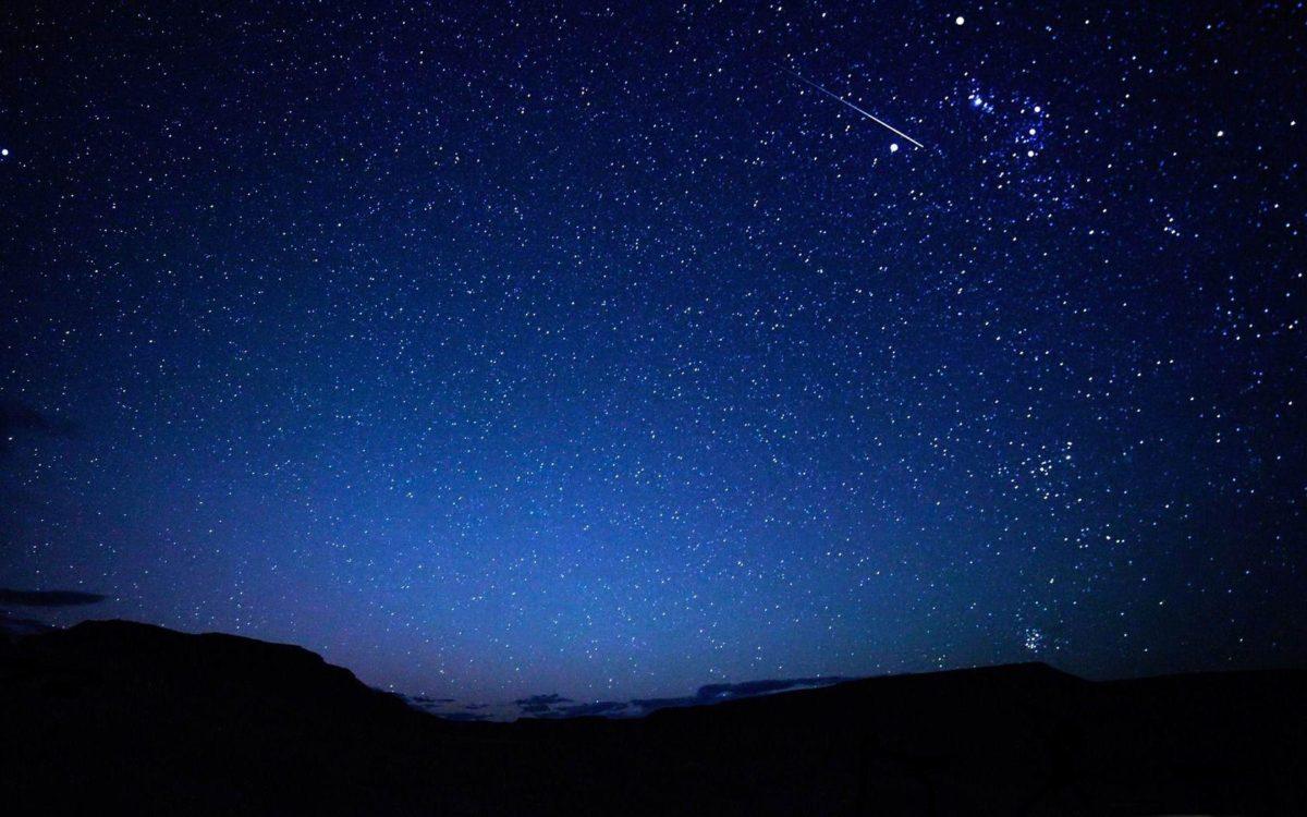 falling star-Night sky HD wallpaper – 1680×1050 wallpaper download –