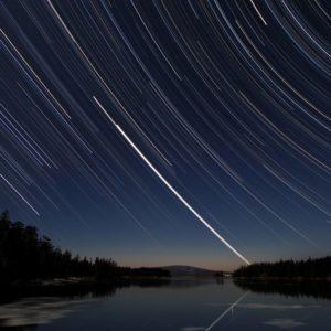 download Download wallpaper Star, night, sky, Star Tracks free desktop …