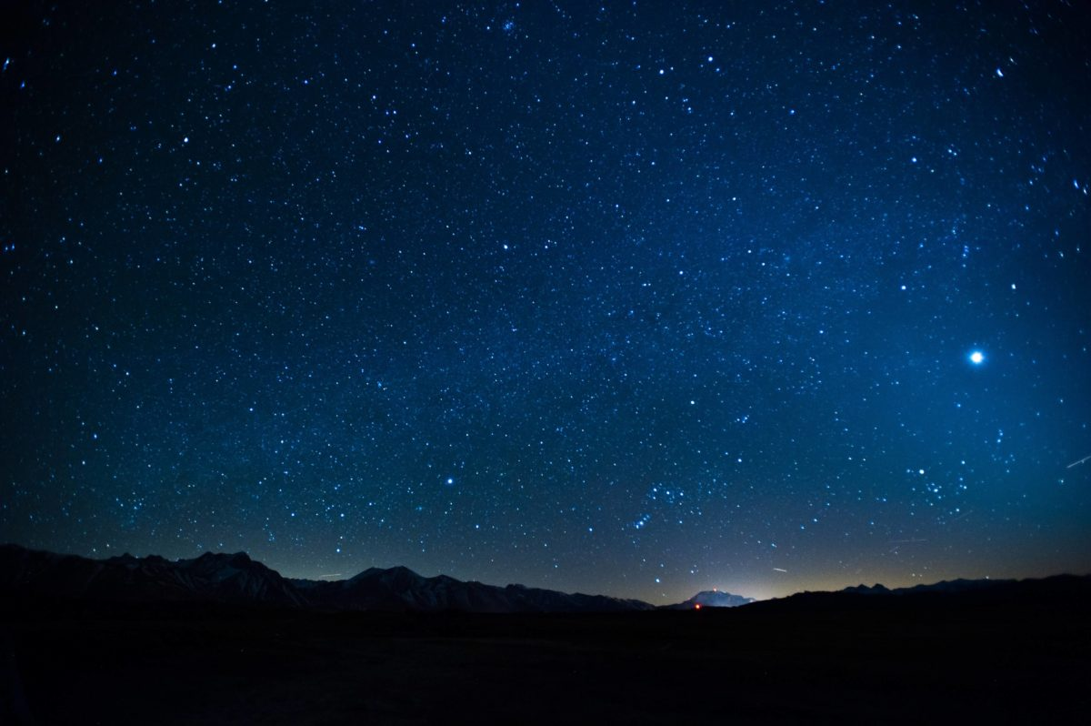 Images For > Blue Night Sky Stars