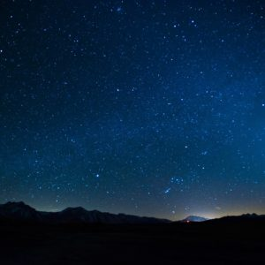 download Images For > Blue Night Sky Stars
