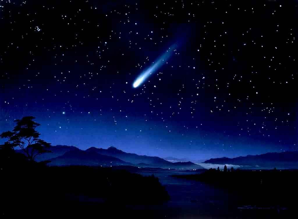 Night Sky Stars Wallpaper | coolstyle wallpapers.