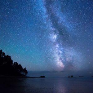 download Night Night Sky Stars Wallpaper 2048×1152 | Hot HD Wallpaper