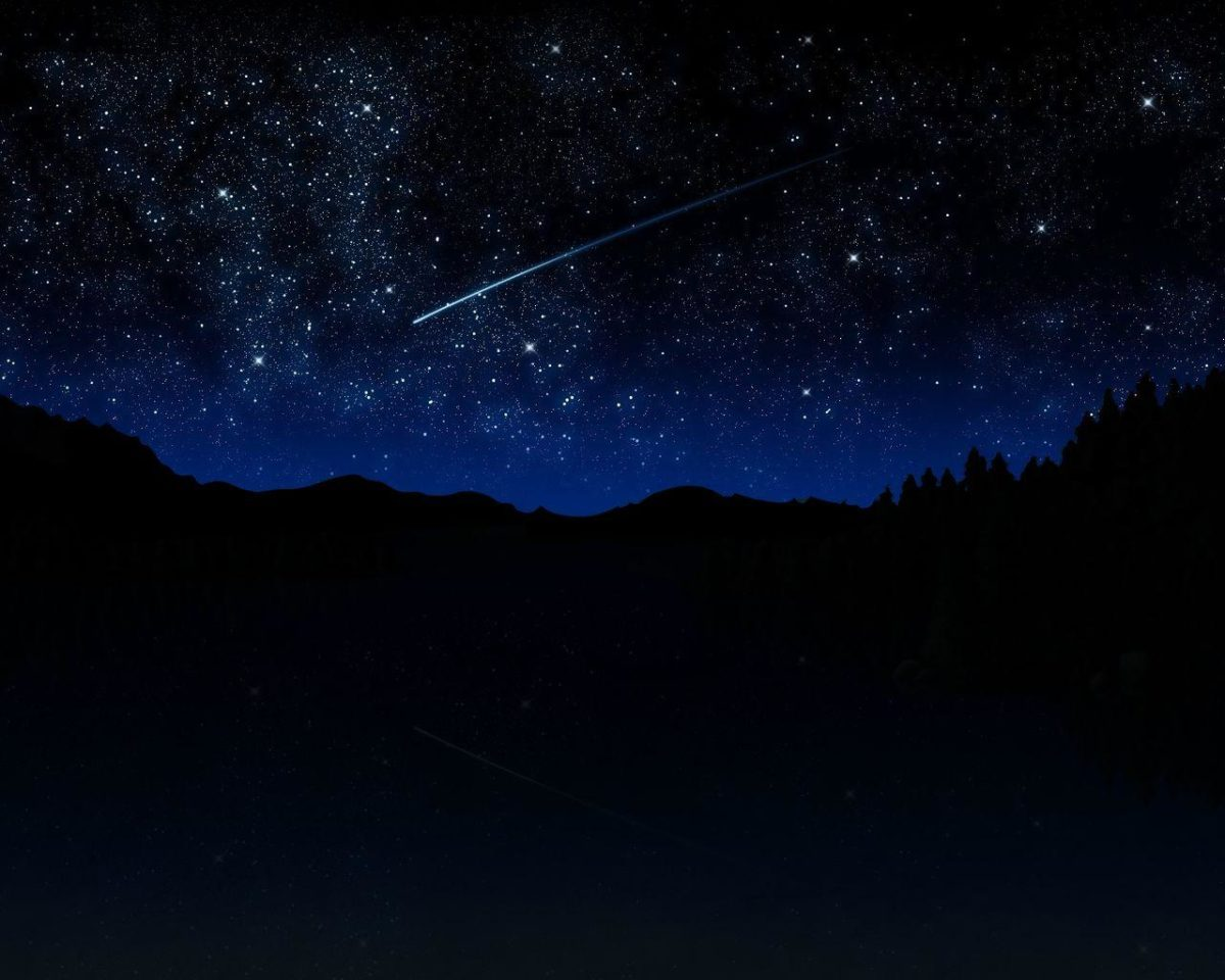 Wallpapers For > Real Night Sky Stars Wallpaper