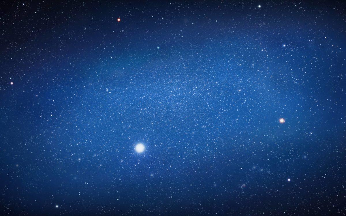 Images For > Blue Night Sky Stars Wallpaper