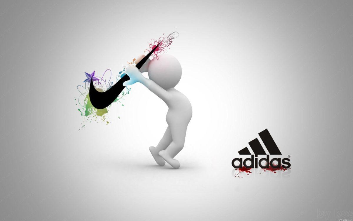 Logo : Nike Adidas Creative Wallpaper 1600x2560px Nike Wallpaper …