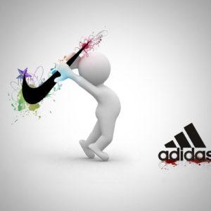 download Logo : Nike Adidas Creative Wallpaper 1600x2560px Nike Wallpaper …