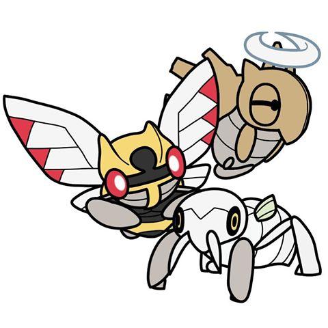BugDex #290 #291 #292 #pokemon #bug #bugdex #digitalart # – Images about #ninjask on Instagram – Nincada HD Wallpapers
