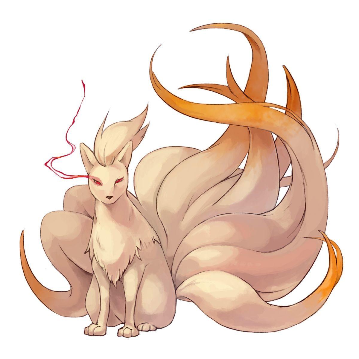 Ninetales – Pokémon – Zerochan Anime Image Board