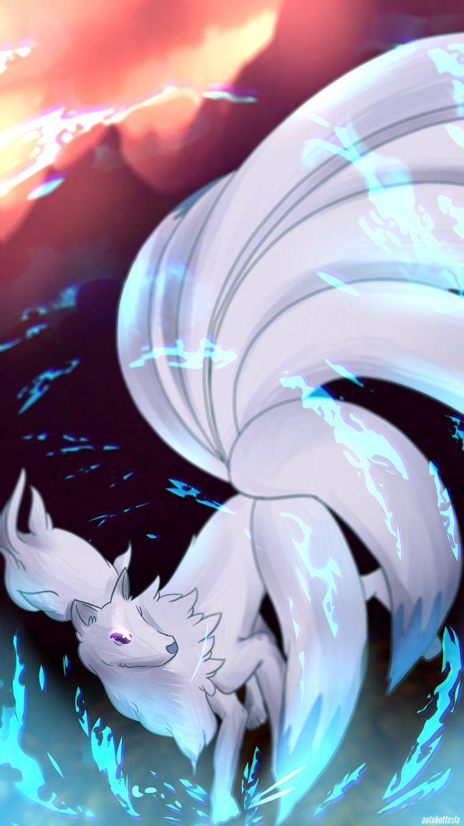 Day 358 – Kyukon | Ninetales (Shiny) by AutobotTesla on DeviantArt
