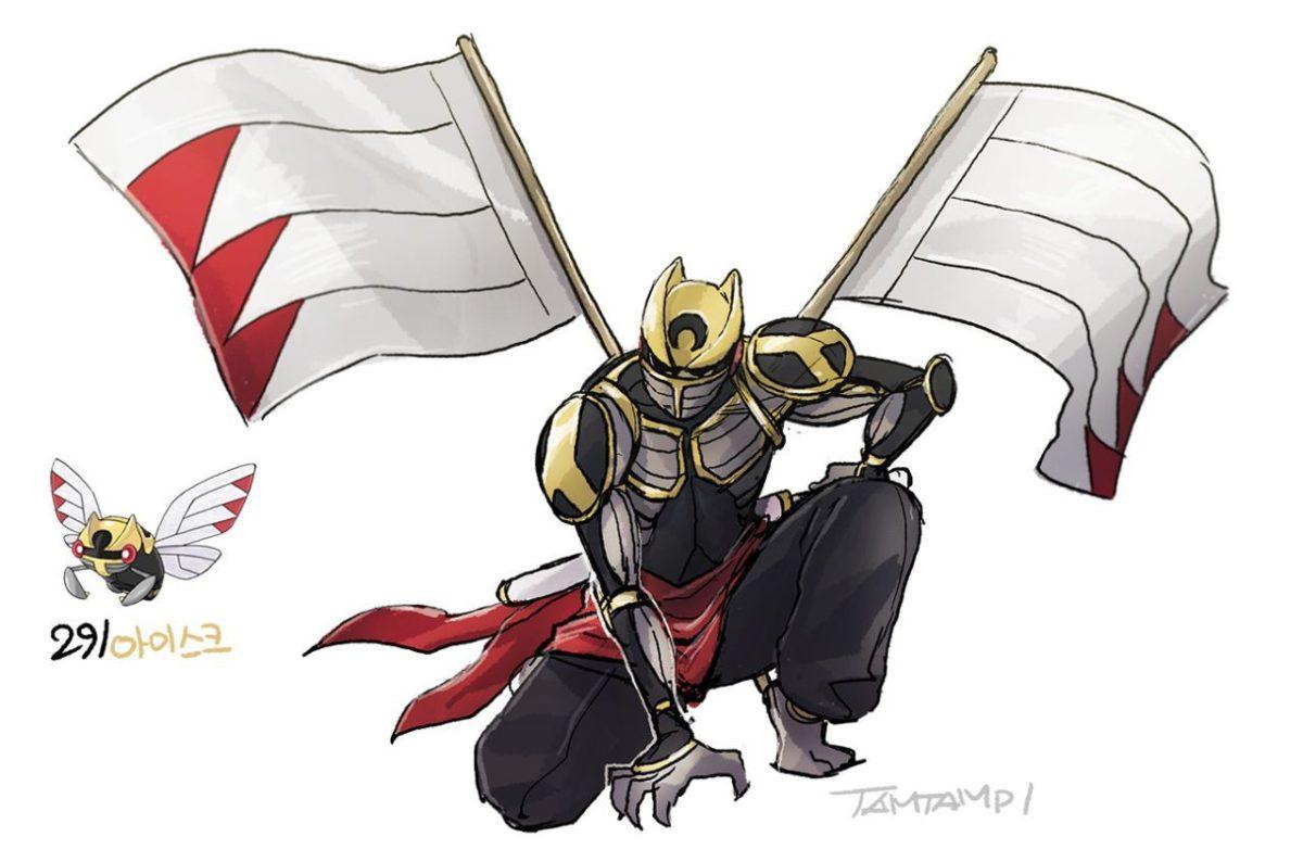 Pokemon Gijinka 290. Nincada 291. Ninjask 292. Shedinja | Pokemon …