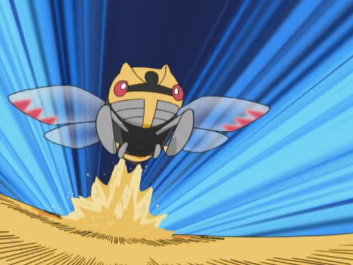 Image – Brandon Ninjask Sand Attack.png | Pokémon Wiki | FANDOM …