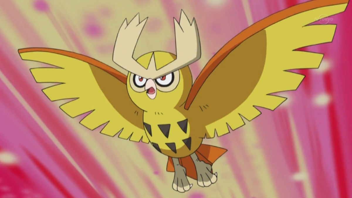Pokémon by Review: #163 – #164: Hoothoot & Noctowl