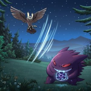 download Noctowl vs Gengar by mscorley on DeviantArt
