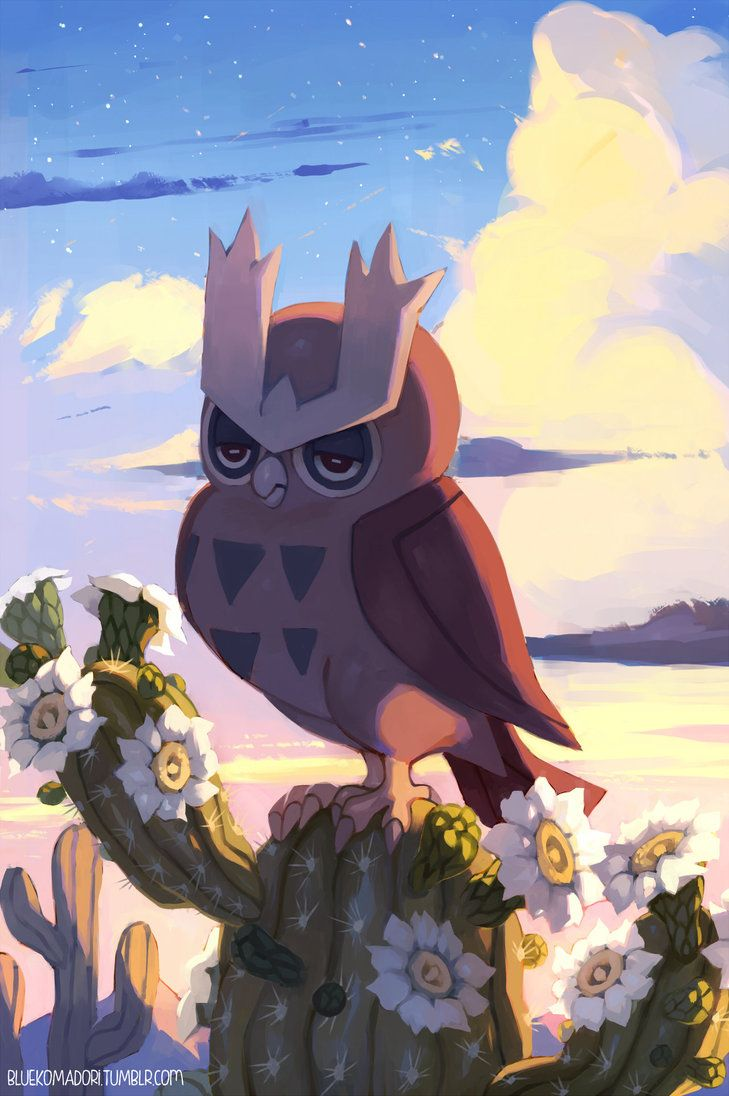 Noctowl by bluekomadori on DeviantArt