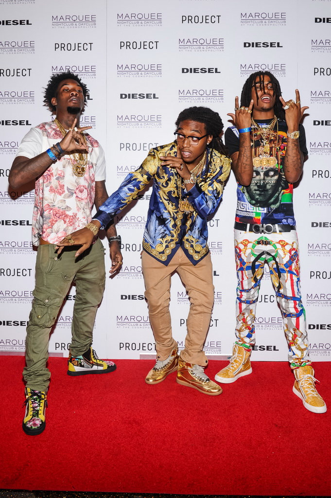 Offset, Takeoff, and Quavo of
